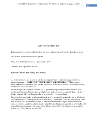 Letters For A Teacher Introduction Letter To Parents From Spanish Teacher Spanish