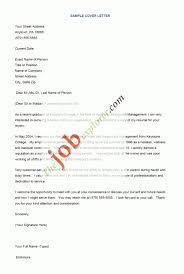 New Sample Of Cover Letter For Applying Job | Mediarefinery ...