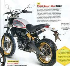 ducati scrambler desert sled sue worthy motorcycle art
