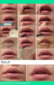 natural look lip makeup tutorial valerie d s valeritte photo beautylish