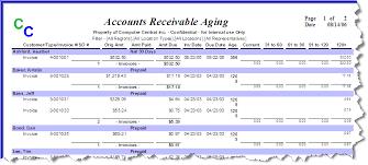 Account Receivable Aging Report Iridium Accounts Receivable