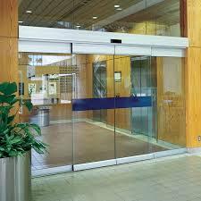 great sliding glass office doors 2. Automatic Sliding Doors Cost Commercial Glass Price Motorized Door Mechanism Great Office 2
