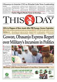 Wednesday 5th July 2017 by THISDAY Newspapers Ltd issuu