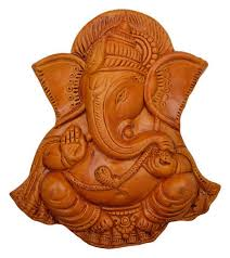 terracotta ganesh ganpati 3d wall hanging on ganesh 3d wall art with terracotta ganesh ganpati 3d wall hanging sajavati deewar latkan