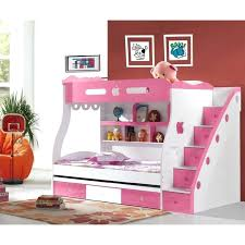 bedroom designs for girls with bunk beds. Girls Bunk Bed Sets Chic White Pink Design For Cheerful  Bedroom Decor . Designs With Beds O