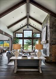 Design stunning living room Ideas Contemporary Rustic Farmhouse With Stunning Living Spaces In Rural Oregon Thecubicleviews Contemporary Rustic Farmhouse With Stunning Living Spaces In Rural