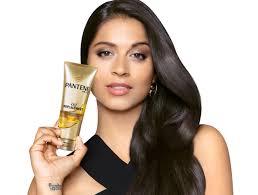 Pantene shampoo comercial half asian model
