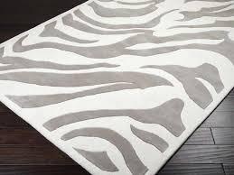 grey zebra rug endearing rugs design grey zebra rug