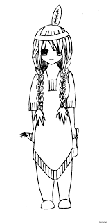 free indian summer coloring pages print out native american for thanksgiving easy