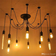 chandelier light bulbs 6 8 vintage bulbs spider pendant lamp home ceiling light fixtures chandelier light bulbs