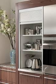 rolling appliance caddy stainless steel appliance garage garage door cabinet hinges rolling shutters s m l f