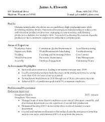Product Manager Resume Samples New Production Manager Resume Mkma