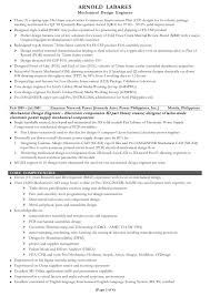 Cad Design Engineer Sample Resume