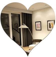 wall decoration colored mirror acrylic sheet with custom shape images
