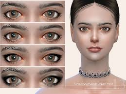 S-Club WM ts4 eyelashes 201713 #sims4cc | Sims 4, Sims, Sims 4 cc makeup