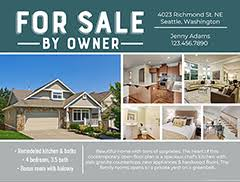 for sale by owner brochure online real estate flyers from smilebox for superb sales