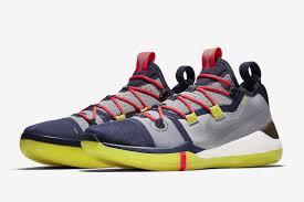 Kobe Bryant Shoe Designer Nikes New Kobe A D Signature Shoe Has Dropped Sbnation Com