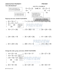 Worksheets by Math Crush