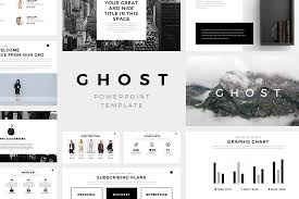 table chart design inspiration. Ghost Minimal Powerpoint Template Table Chart Design Inspiration S