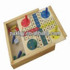 Wooden Ludo Board Game Wooden ludo board game Place of origin Zhejiang China mainland 24