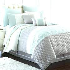 light blue and white striped comforter teal set best oversize light blue and white comforter