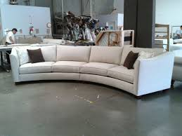 Image of: Curved Sectional Sofa Design
