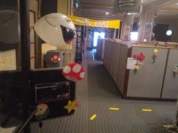 office halloween decoration. Halloween Office Decoration Theme. Mario Kart Ghost House Decorations With Theme O