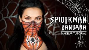 spiderman bandana makeup tutorial