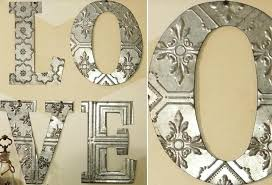 metal letters for wall large decorative letters for walls