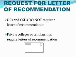 ucs letter of recommendation college application overview who is my counselor alisa