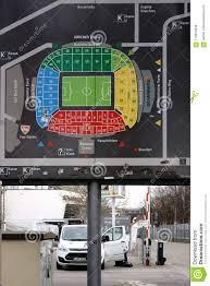 Mercedes Benz Stadium Soccer Seating Chart Stadium Map Mercedes Benz Arena Stuttgart Editorial Stock