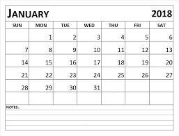 blank 2018 calendar january 2018 calendar blank printable calendar template