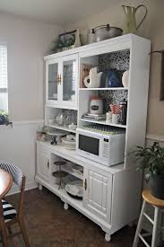 hutch kitchen furniture. In Case You\u0027re Wondering, Yes, The Black And White Kitchen Chairs Are Ones I Reupholstered. LOVE Them, Hutch On Furniture