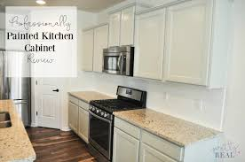 We Painted Our Brand New Kitchen Cabinets And Heres How It Turned