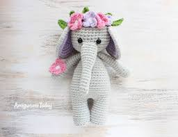 Crochet Stuffed Elephant Pattern Best Decoration