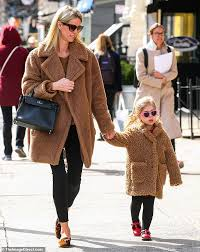 Nicky Hilton and her mini-me daughter Lily-Grace twin in matching ...