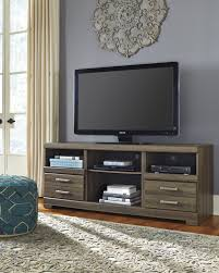 Ashley Furniture W129 68 Frantin Brown Television TV Stand