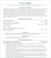 Physician Assistant Resume Examples Best Medical Assistant Resume Example Physician Template Resident Doctors