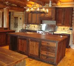 Pine Kitchen Cabinet Doors Kitchen Top 10 Rustic Pine Kitchen Cabinets Design Unfinished