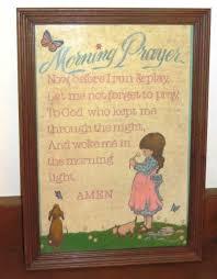 Frayer Frames Lovely Painting Little Girl Morning Prayer And Others
