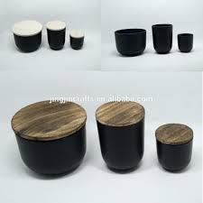 candles black glass candle jar spray holder votive candles tealight holders