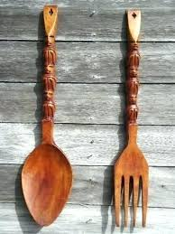 wooden fork and spoon wall decor advanced wooden fork and spoon wooden fork spoon knife wall