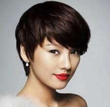 Asian Woman Short Hair Style photo short asian girl haircuts short hairstyles for asian women 4633 by wearticles.com