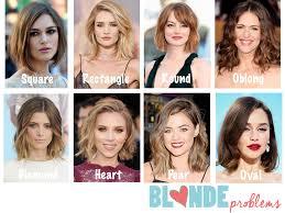 Square Face Shape Hairstyles Blonde Problems Chop Chop Pick The Perfect Lob For Your Face
