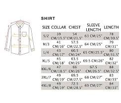 Maceoo Size Chart Flavor Paisley Dress Shirts