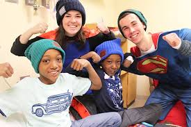 love your melon products.  Your Notre Dame Students Visit Memorial Hospital In South Bend To Give Hats  Children Battling Cancer With Love Your Melon Products