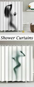 shower curtain shower environmentally friendly. Hot Sale Eco-Friendly Charming Figure Printing Shower Curtain For Bathroom Environmentally Friendly A