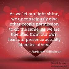 Marianne Williamson Love Quotes Marianne Williamson Fear Quotes Double Quotes 88