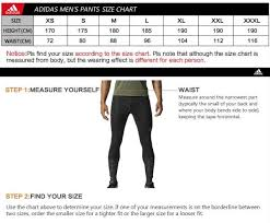 Adidas Clothing Size Chart Adidas Size Chart Trousers Best Picture Of Chart Anyimage Org
