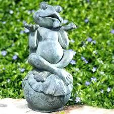 yard figurines frog yard ornaments frog garden figurines carefree frog garden statue frog garden ornaments frog